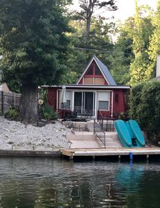 Cozy Lake Cabin In Great Cove Right Off Main Channel On Lake Hamilton Mountain Pine