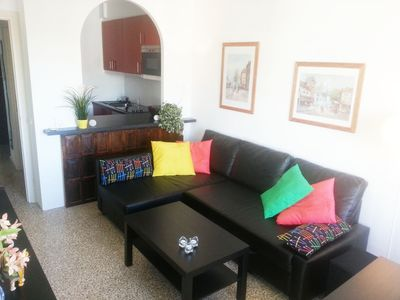 Photo for Edf. Neptuno 5ºD - Eurosur - Apartment for 6 people in Nerja