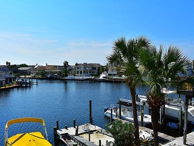 Photo for Canal w/ dock space. Walk to beach.