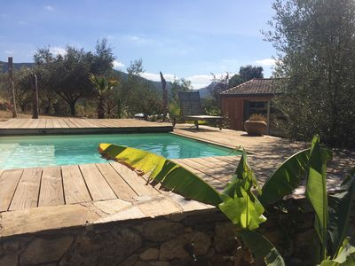 Photo for Studio / pool at the foot of Caroux in the countryside