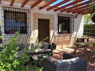 Photo for Spacious house with heated swimming pool near nature park and close to nice white village