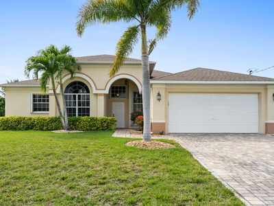 Photo for Sophisticated Home w/ Spa, Saltwater Pool & Garage – 15 Minutes to Beach