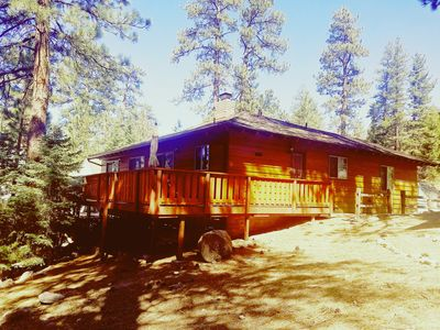Photo for 3BR Cabin Vacation Rental in Fawnskin, California