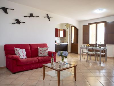 Photo for Spacious three-room apartment of 100sqm, bright and comfortable just a few steps from the beach