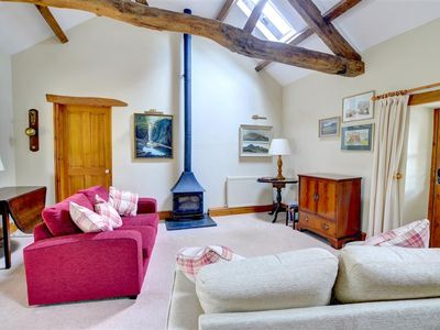Photo for Within the Snowdonia National Park is this detached barn offering a very high standard of accommodat