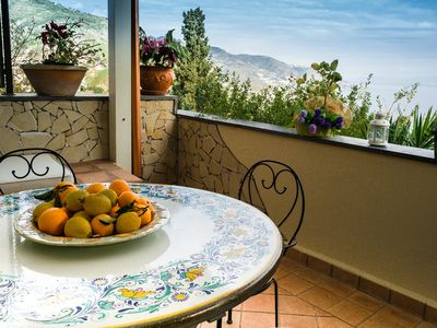 Center of Taormina,stunning view, swimming pool , parking 2bedrooms  2 bathrooms