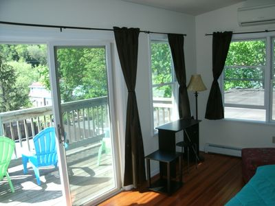 Photo for PENTHOUSE /Sun Room, deck, Mountain view, 5 beds sleeps 7