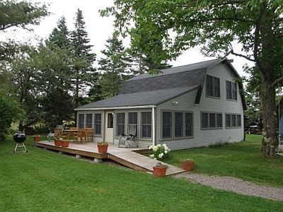 Photo for Down East Maine modern, well  equipped cottage in heart of coastal Winter Harbor