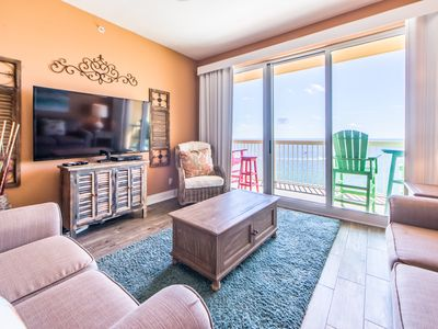 Photo for ⭐BeachFRONT⭐Calypso 2-1504 West 3BR-BeachService! Book for Thanksgiving!