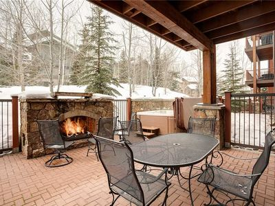 EL5110 Private Hot Tub, Outdoor Fireplace! WINTER SPECIALS!