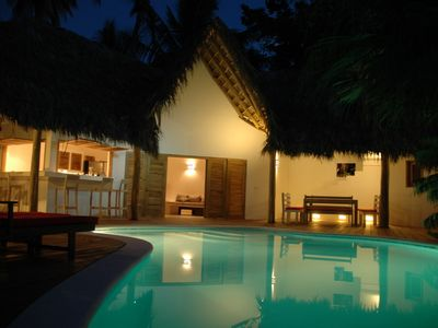 Photo for Villa banana for friends & family, quite & modern 300m from beach