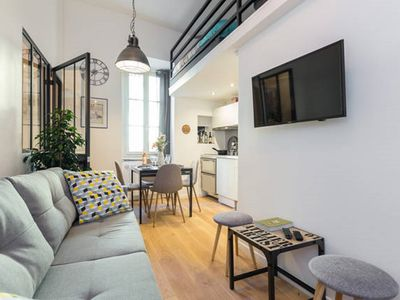 Photo for LOFT CHARMING & ATYPICAL, AIR CONDITIONING, WIFI, IN THE HEART OF OLD NICE