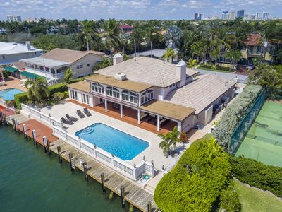 Photo for Luxury Waterfront Estate w/ Pool & Dock on Intracoastal - 2 Blocks to Beach