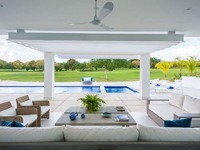 Photo for Contemporary Resort Villa, Swimming Pool, Indoor/Outdoor Living, Full Staff, AC, Free Wifi, Chef