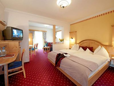 Photo for Comfort Family Room | Terrace 38m² - Angerwirt, vitality and family hotel
