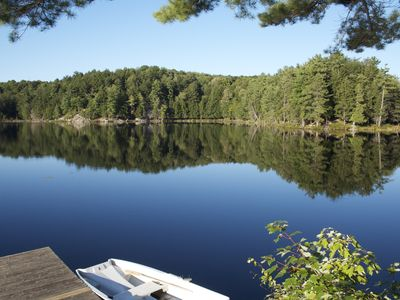 Photo for Cedar A Frame Chalets on private lake with Trout