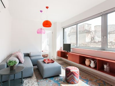 Photo for Modern/chic apartment, central Athens (Ermou st)