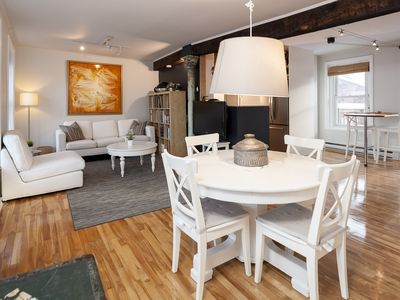Photo for Amazing loft with view + parking in the heart of the Old Montreal