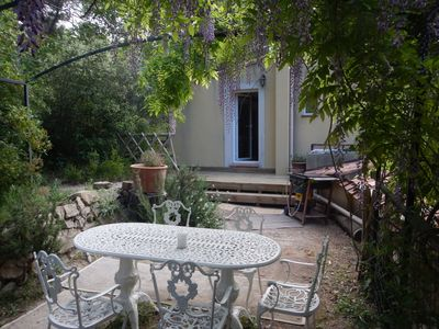 Photo for L'Oustalet, Gite 3 *, 20 minutes from the sea. T2 for 2 to 3 people