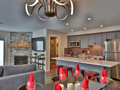 Photo for Forest Suites: Sleep 10 in Killington Center Condo-hotel