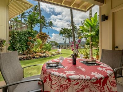Photo for Remodeled Beachfront Condo! Lae Nani #211  AC in BEDROOM!