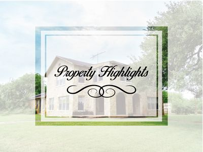 Property Highlights Title Card