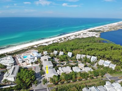 Photo for Gulf Side Condo -  Watercolor South of 30A -  Steps from the Beach - 2 Bikes Included!