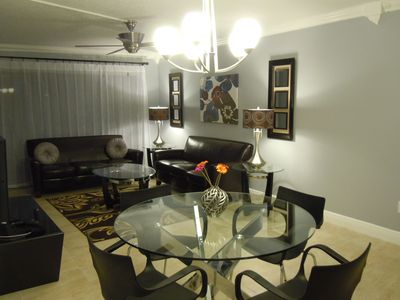 Photo for Modern elegant super clean condo/apartment/WIFI, German owner lives in Orlando