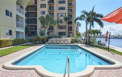 Photo for Intracoastal views in the heart of Pompano Beach walking distance to the beach