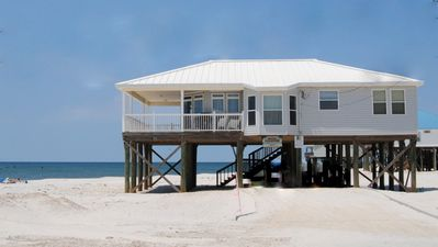 Photo for Direct Gulf-front 3 Bedroom Beach House