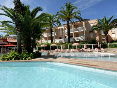 Photo for Just 4 person apartment in beautiful residence close to the beach