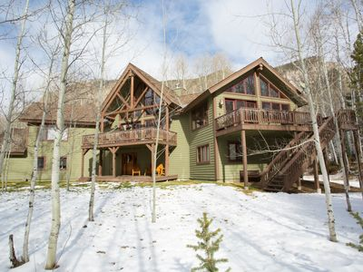 Photo for Aspen Hideaway: Beautifully furnished. Gently nestled in an Aspen Grove