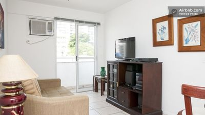 Photo for FLAT WITH 02 SUITES IN LUXURY BUILDING. GREAT LOCATION !!!!