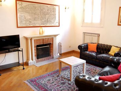 Photo for Apartment in the center of Rome with Internet, Washing machine, Air conditioning, Terrace (127543)