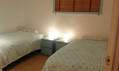Photo for Cosy Turqoise and Cream room in Akranes - 2 single beds