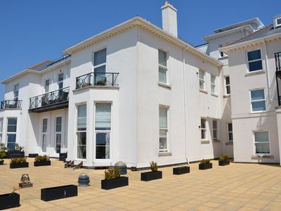 Photo for Stunning 2 Bedroom apartment overlooking Torbay