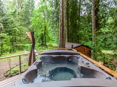 Photo for Mt. Hood Cabin w/hot tub and close to hiking, skiing and outdoor adventuring.