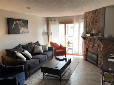 Photo for Cozy, remodeled ski in/out condo just steps from the slopes
