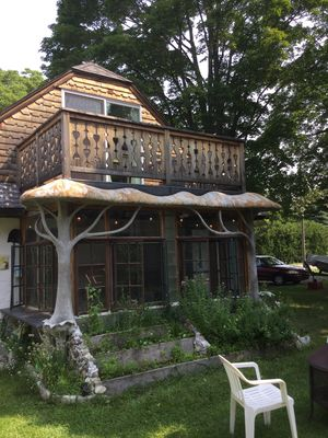 Photo for The Hermitage: A Treehouse, Book Filled Sanctuary just 5 blocks from the beach!