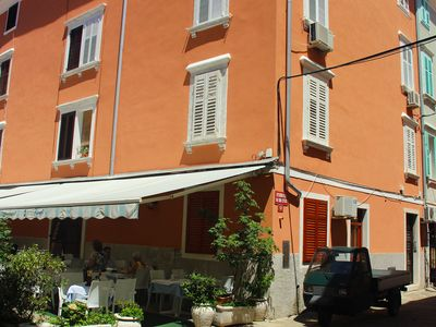 Photo for Apartment close to the Tartini square and local food market, 100m from the beach