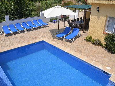 Photo for 6 bedroom Villa, sleeps 10 in Lloret de Mar with Pool and WiFi