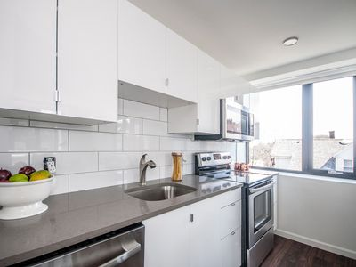 Photo for 5 Minute Walk to Mission Park Green Line, Brand New Mission Hill Apartment!