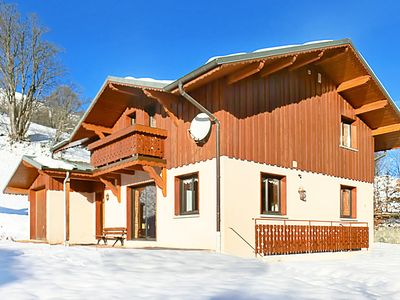 Photo for Chalet located at the ski slope (approx. 150 m), with sauna and wifi internet access.
