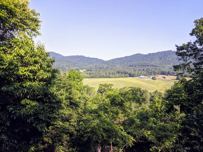 Photo for Hilltop Hideaway, Rustic Cabin with Great Views in Brasstown, NC