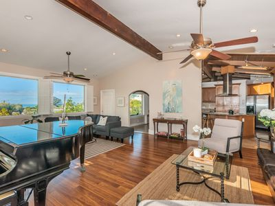 Del Mar Vacation Oasis with Ocean Views and Outdoor Entertainment Space!