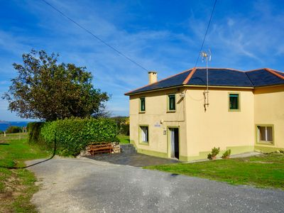 Photo for Country house with large garden, ocean views and a 5 minute walk to the beach!
