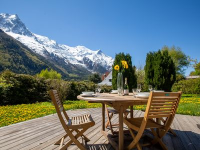 Photo for Chalet des Moussoux, Chamonix, France