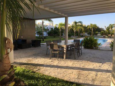 Photo for comfort house in playa del carmen perfectly por 12 people ( family)