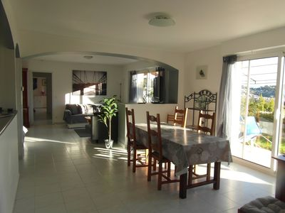 Photo for Beautiful apartment on the ground floor of villa