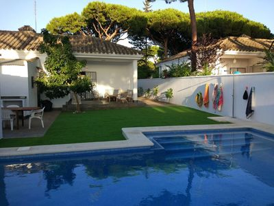 Photo for Beautiful villa ideal for family vacations in the area of La Barrosa.